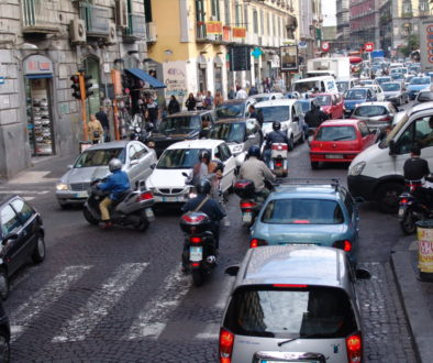 italy traffic