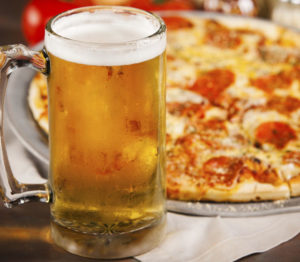 pizza birra